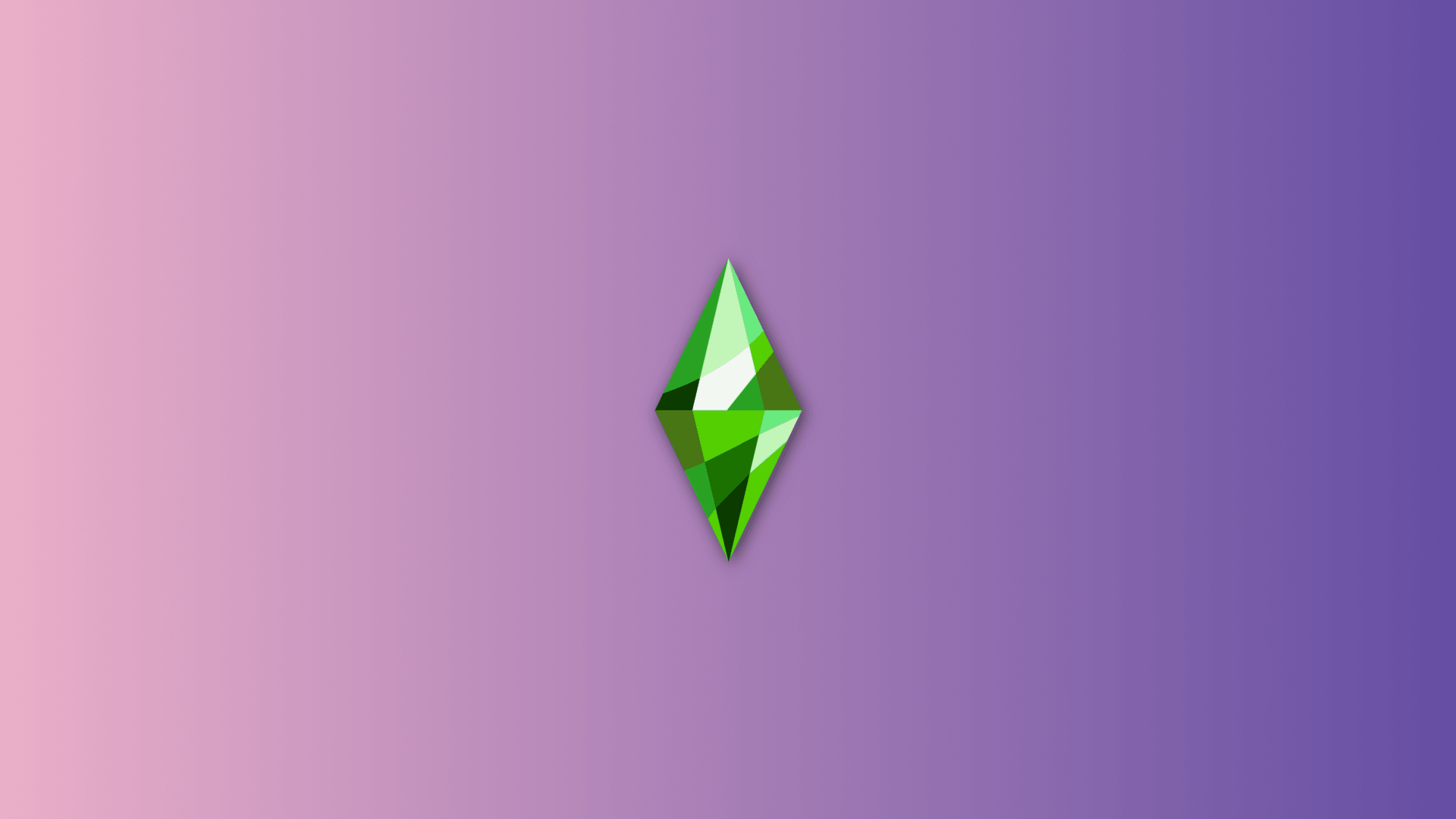 Sims Ultra Violet Wallpaper